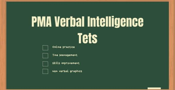 PMA Non Verbal Intelligence Test