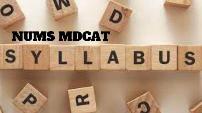 NUMS MDCAT Syllabus 2021