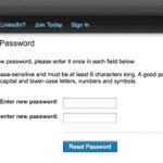 Cara mengatasi lupa password LinkedIn