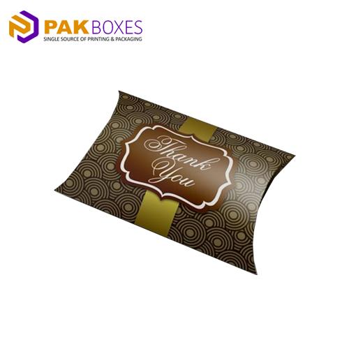 custom printed pillow packaging