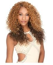 curly hair weave premium