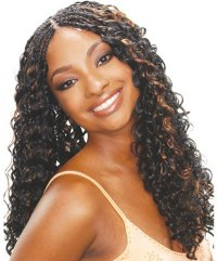 Curly Braid Extensions Hairstyles  Triple Weft Hair ...
