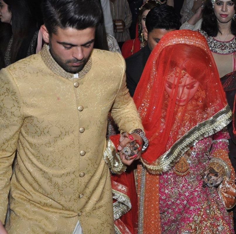 Selfie-King Ahmed Shahzad got hitched this weekend (1)