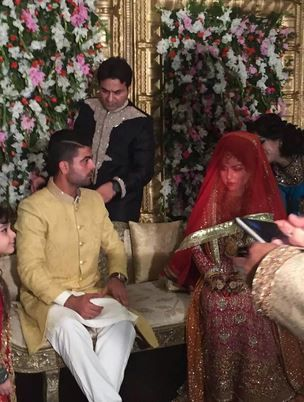 Selfie-King Ahmed Shahzad got hitched this weekend (13)