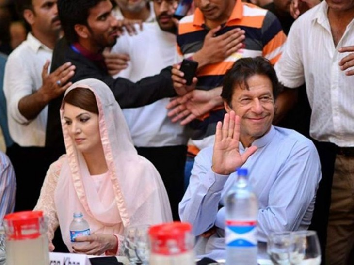 Reham and Imran khan