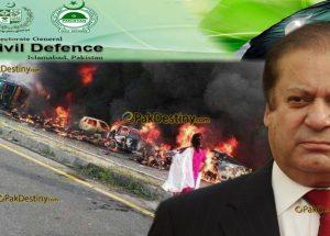 civll defence pakistan,nawaz sharif,Bahawalpur tragedy
