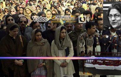 contervasial funeral prayer of asma jahangir