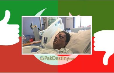 Conflicting versions on Naeem Bokhari injury in London