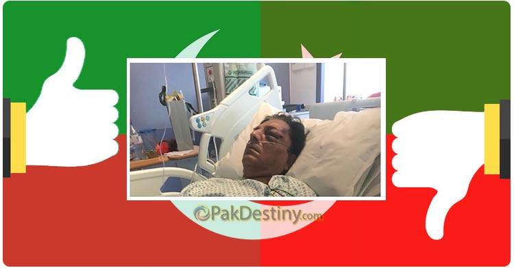 Conflicting versions on Naeem Bokhari injury in London