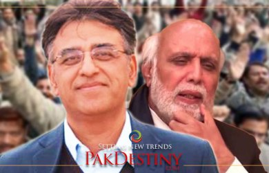 A perfect answer to overly rated Asad Umar by Haroon Rashid