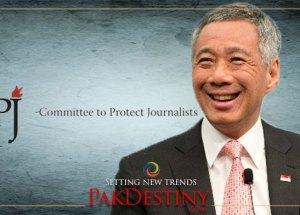 Singapore 'fake news' legislation endangers press freedom,cpj,Lee Hsien Loong