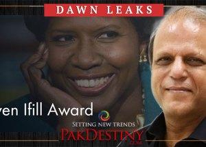 Zaffar Abbas ,Gwen Ifill Award,Dawn leaks
