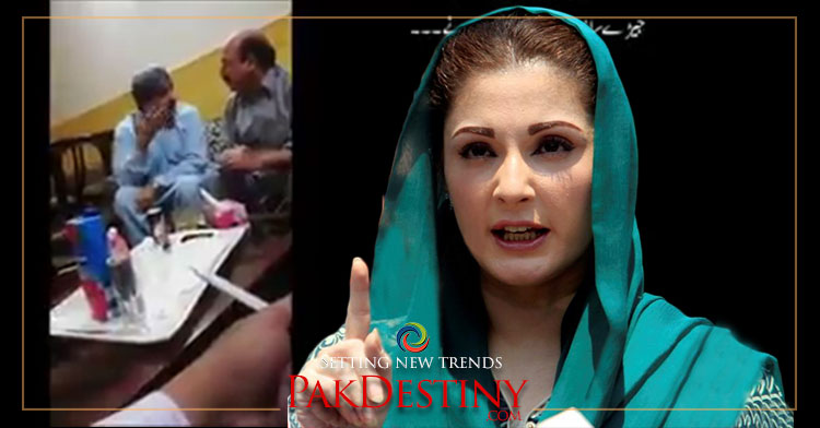 Maryam's startling revelations -- judge video out in which he says he punished Nawaz under pressure