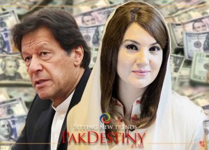 A dollar may touch to Rs200 by this November, Imran Khan's ex-wife