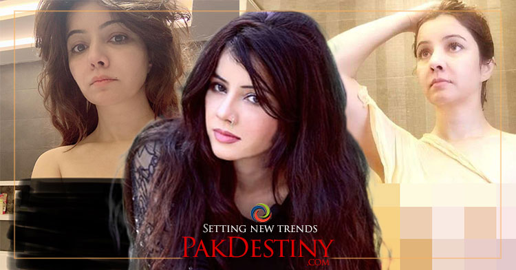 The nude pictures and videos of  actress Rabi Peerzada has created storm in social media.