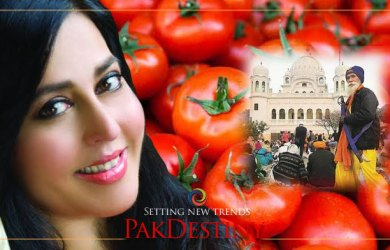Sikhs coming at Kartarpur made to bring tomatoes to end crisis in Pakistan