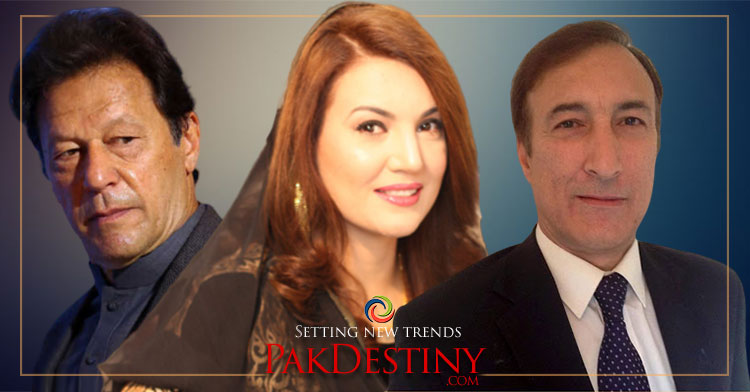 Reham attacks on Imran Khan's masculinity, saying he couldn't satisfy her