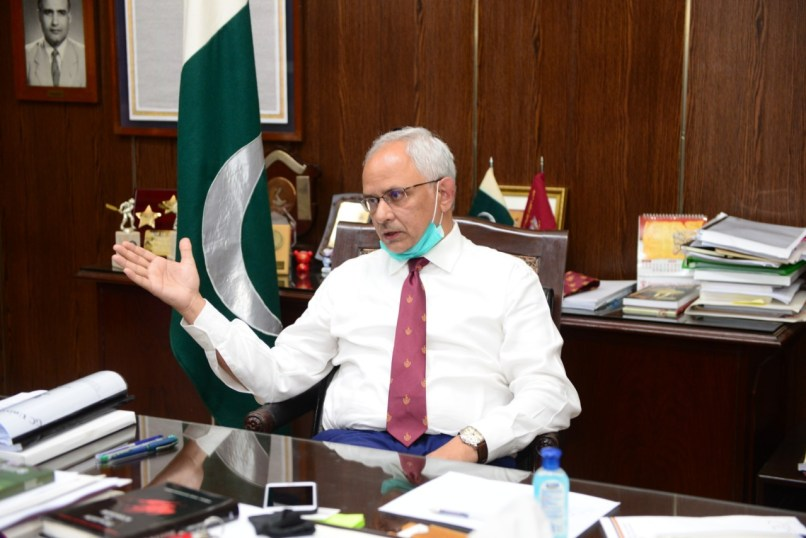 New GCU VC -- Dr Asghar Zaidi -- keen for scaling new heights for his institution