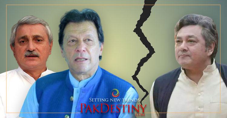 azam khan principal sec cracks between imran khan jahangir tareen