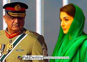maryam nawaz propaganda against pakistan army and qama bajwa