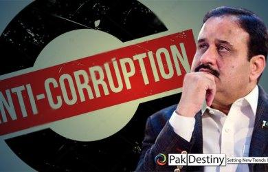 Buzdar tries to make his name through 'corruption slogan' too