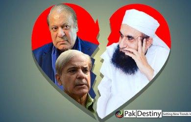 Sharifs 'love affair' with Maulana Tariq Jamil is over?