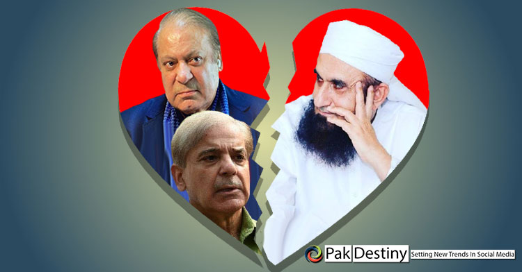 Sharifs 'love affair' with Maulana Tariq Jamil is over?