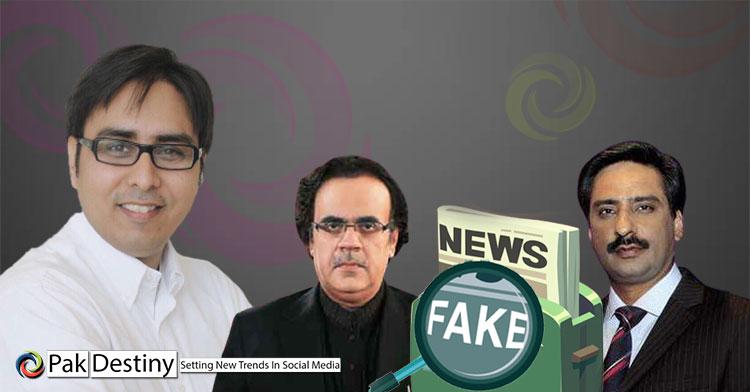 Shahbaz Gill schools and shames TV anchors Javed Chaudhry and Dr Shahid Masood on 'FAKE NEWS'