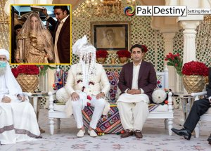Bakhtawar's wedding in pictures