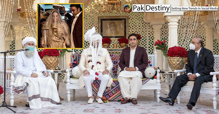 Bakhtawar's wedding in pictures