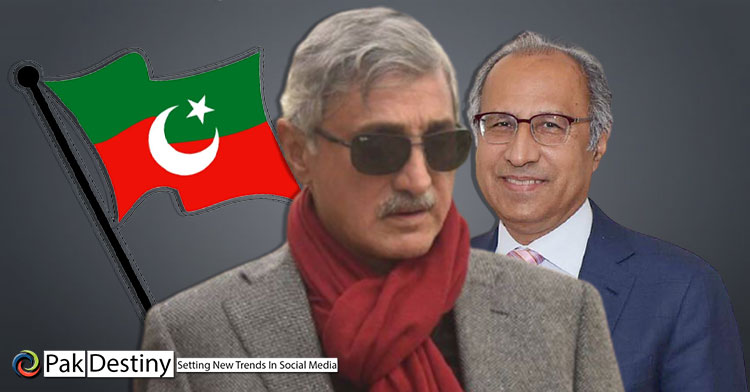 PTI is licking its own spit by seeking Tareen's help to ensure victory of Hafeez against Gillani in Senate