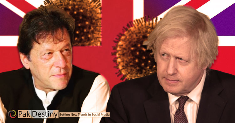 britain is responsible of covid spread in pakistan