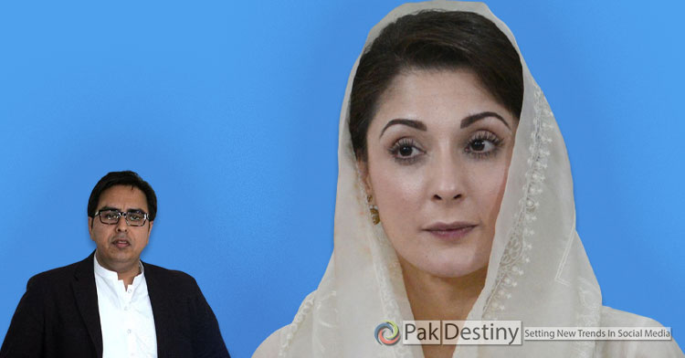 shahbaz Gill forces PMLN leader Maryam nawaz to respond him on twitter