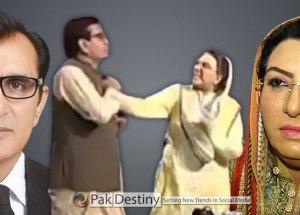 firdous ashiq fight with qadir mandokhel