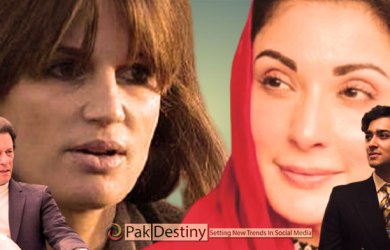 Jemima-Maryam tiff on Twitter over dragging of their children in controversy -- Is PM Khan is responsible for this