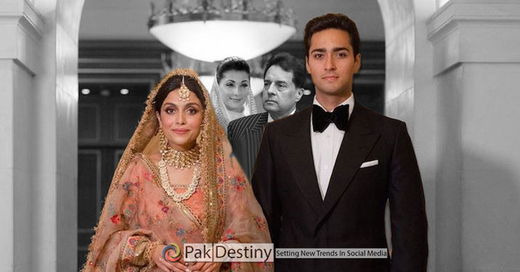 junaid safdar with with his wife ayesha saif khan on his marriage nikah ceremony