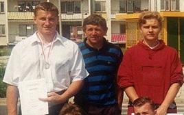 młody mariusz pudzianowski 17 lat
