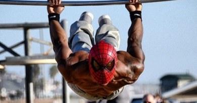 street workout spiderman