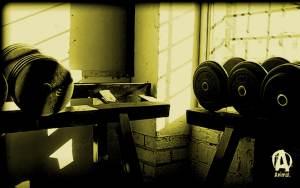 tapeta siłownia