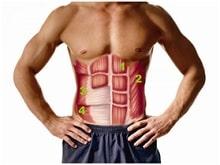 trening brzuch