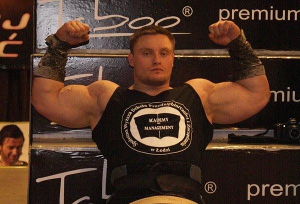 Krzysztof Radzikowski - Kaczor Polski strongman