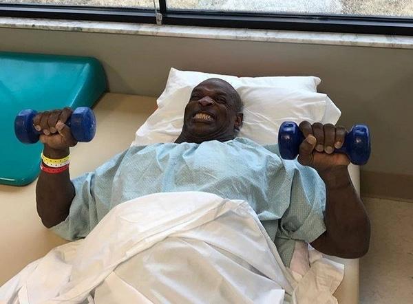 Kolejna operacja Ronniego Colemana zakończona powodzeniem