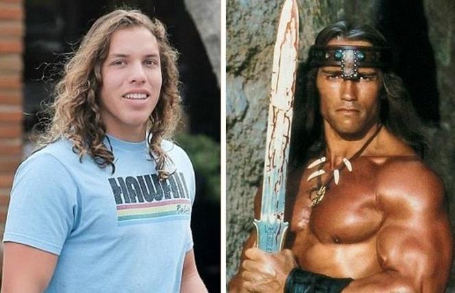 synowie Arnolda Schwarzeneggera - Joseph Baena