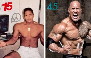 the rock dwayne johnson przemiana