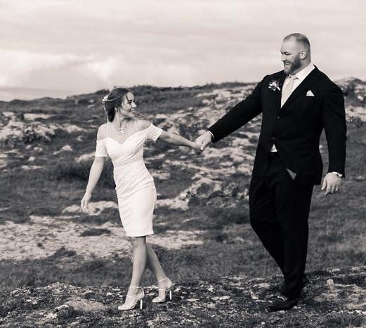 Hafþór Júlíus Björnsson wziął ślub