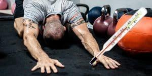 trening w trakcie choroby