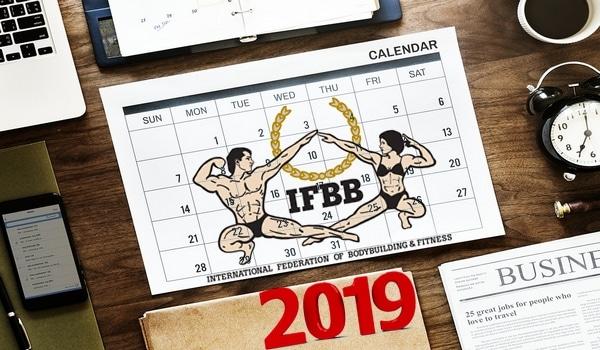 Kalendarz zawody IFBB 2019 kulturystyka i fitness