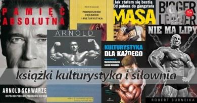 książki o kulturystyce i siłowni