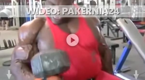 WIDEO: Trening bicepsów Ronnie Coleman pompa