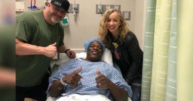 Ronnie Coleman kolejna operacja kręgosłupa 2019 rok